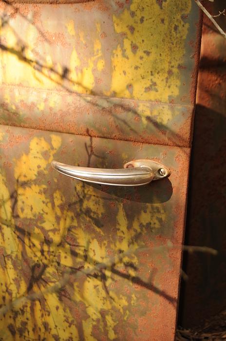 Door Photograph - Out Doors by Maureen Norcross