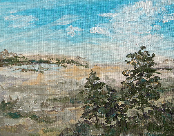 Outlook Painting - Outlook by Sandy Tracey