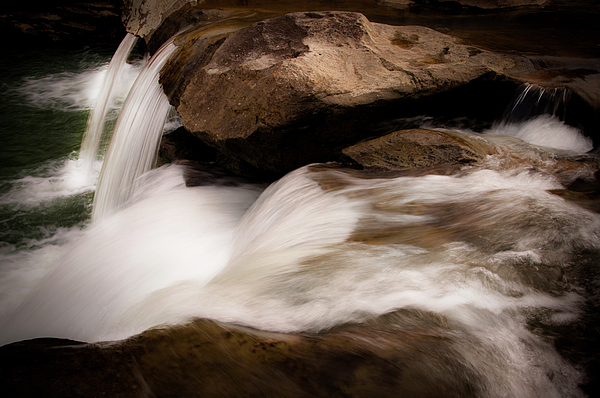 Waterfall Photograph - Over The River by Tamyra Ayles