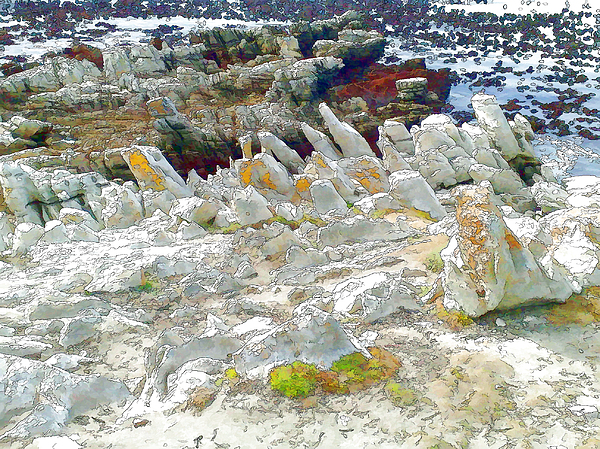 Rocks Photograph - Over Time by Jan Hattingh