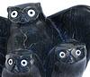 Owls Sculpture - Owls  by Joanasie Manning