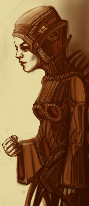 own Digital Art by Marta Zachara