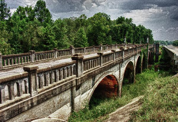 Bridge Photograph - Ozark Alabama Bridge by Frank Feliciano
