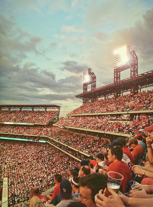 Stadium Photograph - Packed Phull Of Phans by JAMART Photography