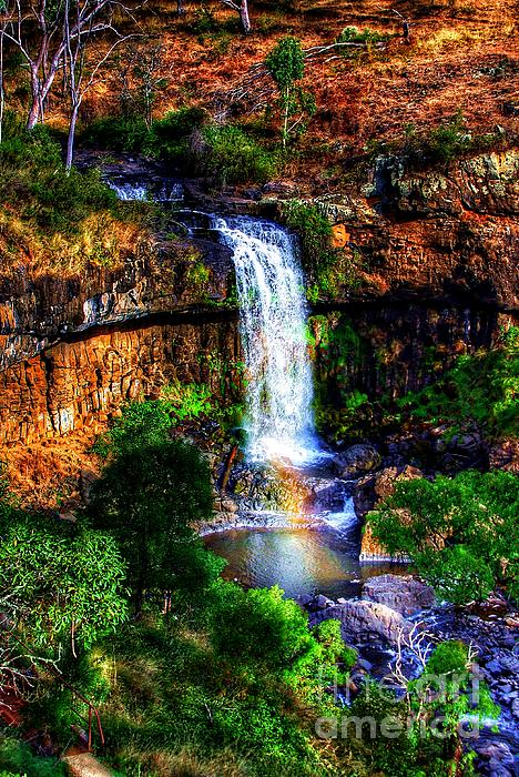 Nature Photograph - Paddys Falls by Blair Stuart
