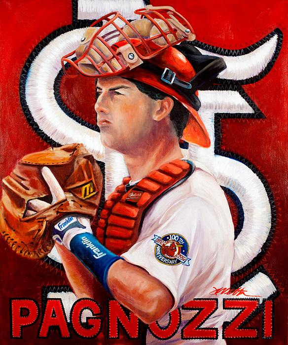 St. Louis Painting - Pagnozzi by Jim Wetherington