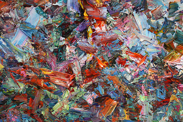 Abstract Painting - Paint Number 42-a by James W Johnson