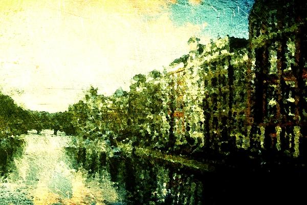 Painted Digital Art - Painted Amsterdam by Andrea Barbieri