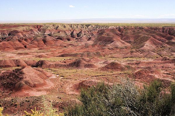 Landscape Photograph - Painted Desert 0249 by Sharon Broucek