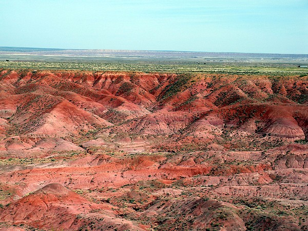 Arizona Photograph - Painted Desert 3 by Jeanette Oberholtzer