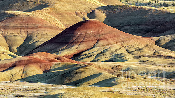 Arid Photograph - Painted Hills, Oregon by Jerry Fornarotto
