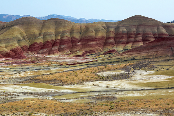 Painted Hills Photograph - Painted Hills View From Overlook by David Gn