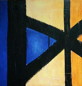 Painting-d Painting by Lida Van Bers