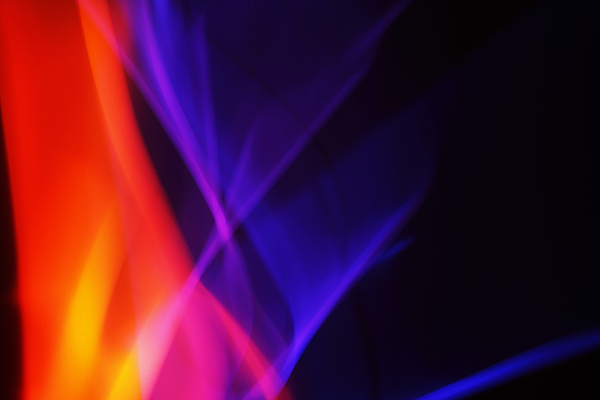 Abstract Photograph - Painting With Light 3 by Chris Rodenberg