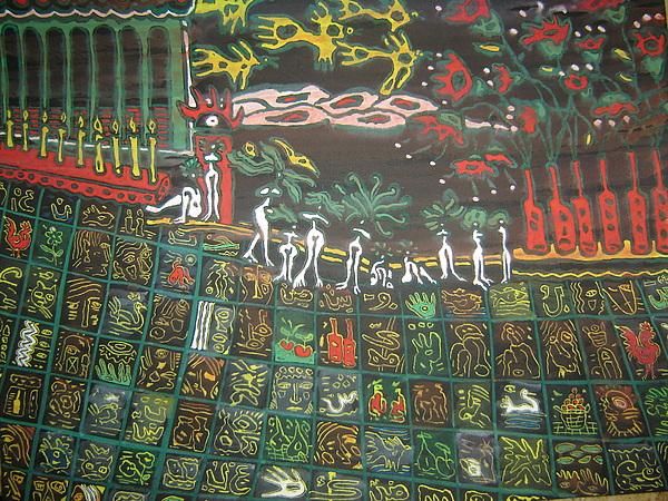 Wman Painting - Palace Carpet by Ebrahim Fleep