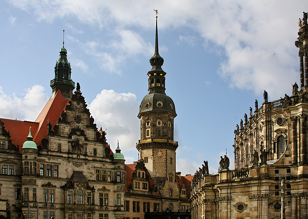 Germany Photograph - Palace Square In Dresden by Christine Till
