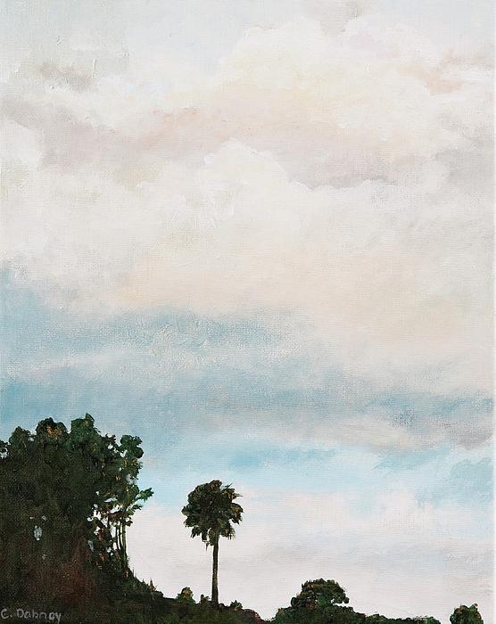 South Carolina Painting - Palmetto Dawn  by Carla Dabney