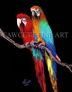 Pals Digital Art by Randy Fawcett