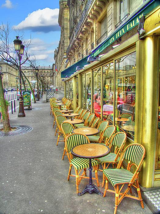 Paris Photograph - Paris Cafe by Mark Currier