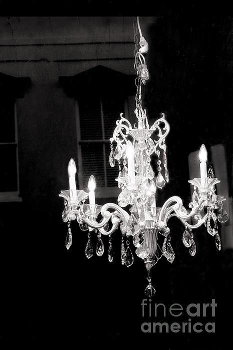Paris Crystal Chandelier Opulent Black And White Crystal – White Crystal Chandeliers