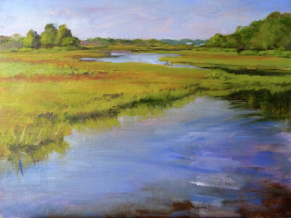 Landscape Painting - Parkers River, Cape Cod by Peter Salwen