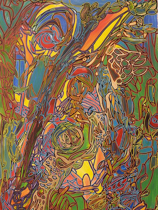 Nature Painting - Parthenogenezis by Igor Eugen Prokop