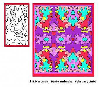 Party Animals Digital Art by Sue Hartman