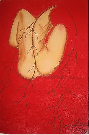 Rojo Pastel - Pasion by Dunia Sanchez Padron