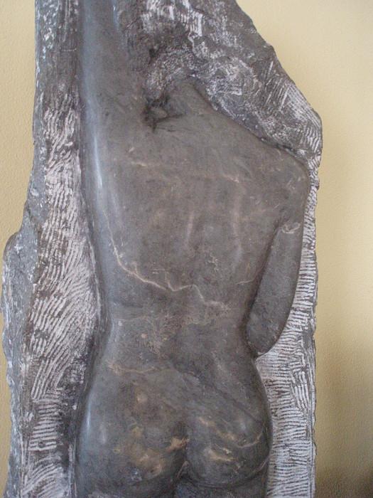Woman's Body Sculpture - Passing Through - Front by MARI Sanchez