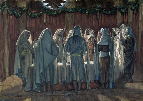 Pass Over Painting - Passover by Tissot