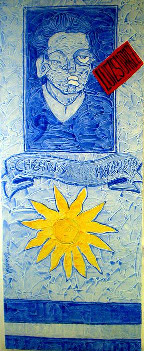 Passport To Semis.. Painting by Yolanda De Sousa