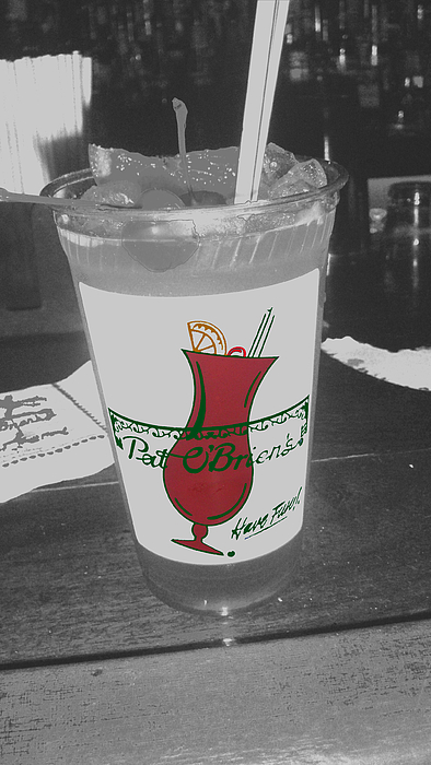 New Orleans Photograph - Pat O Briens Hurricane by David Glaser