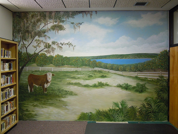 Pat Wilson Room At The Latt Maxcy Library Painting by Scott K Wimer