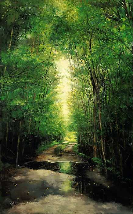 Florida Print - Path Of Light by Keith Martin Johns