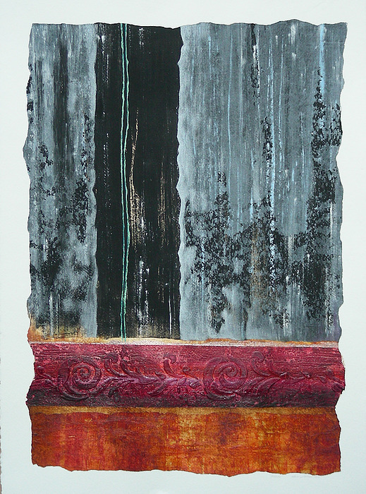 Abstract Painting - Patinas by Lenore Walker