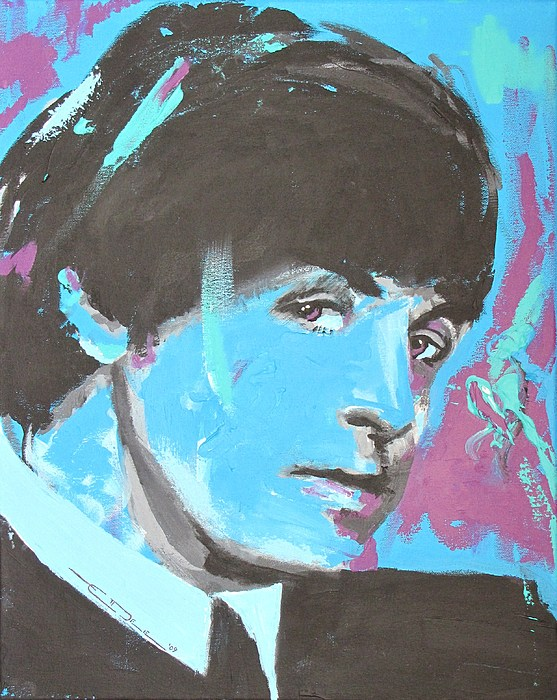 The Beatles Painting - Paul Mccartney Single by Eric Dee
