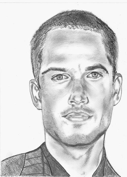 Realistic Drawing - Paul Walker by Kanase Hangputjaikarn