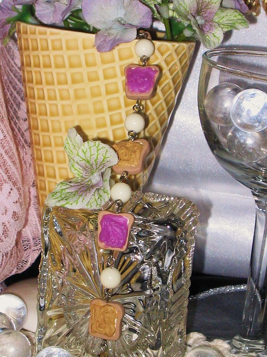 Polymer Jewelry - Pbj Bracelet by Jamie Pool