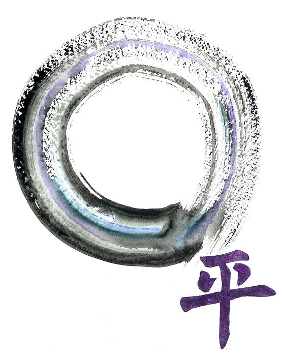Tao Painting - Peace by Ellen Miffitt