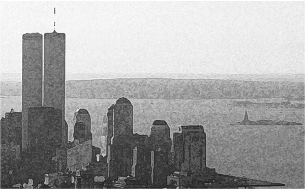 World Trade Center Photograph - Peaceful Harbor by Richard Gerken