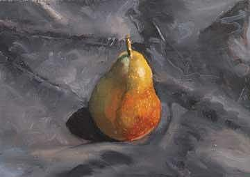 Pear Painting by Judith DAgostino
