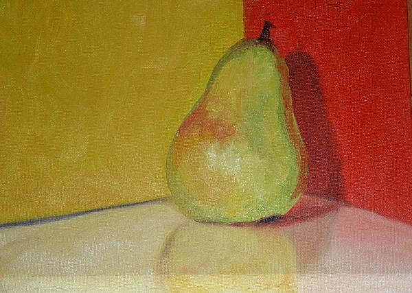 Pear Painting - Pear Study by Martha Layton Smith