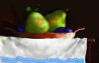 Pears Digital Art by Gerald Wolfert