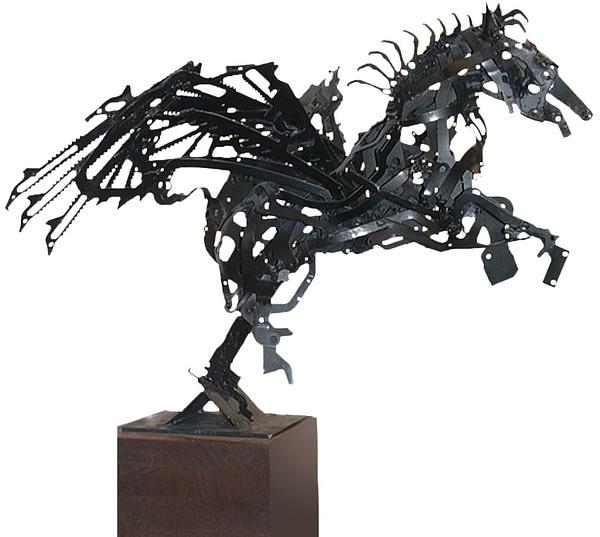Pegaso Sculpture - Pegaso by Gianni  Marazzi