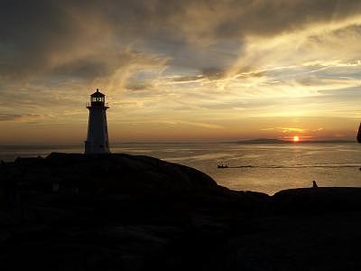 Landscape Photograph - Peggys Cove Nova Scotia by Donna Ryant