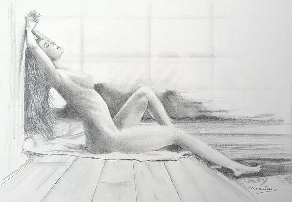Pretty euro girl sexy nude