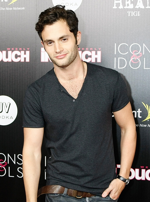 Penn Badgley Photograph - Penn Badgley At Arrivals For In Touch by Everett