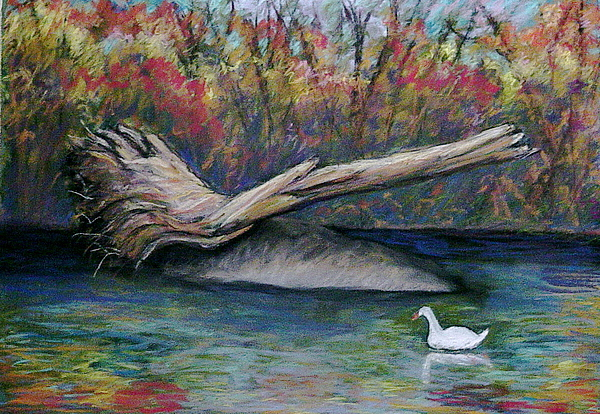 Northeast Philly Painting - Pennypack Park by Marita McVeigh