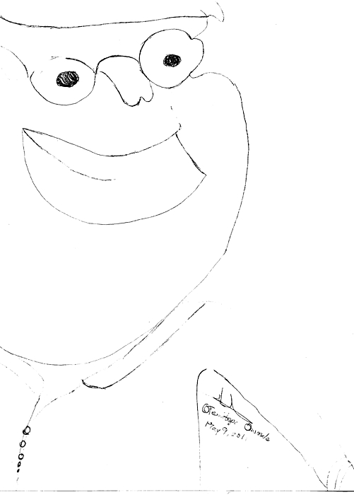 Peter Griffin Drawing by Temitope Owosela