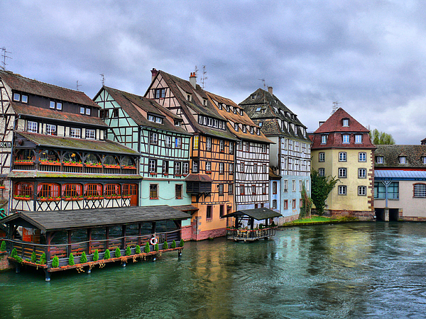 Horizontal Photograph - Petite-france, Strasbourg by Richard Fairless